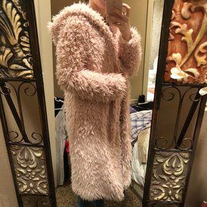 Forever 21 Fuzzy Coat